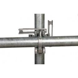 Kruiskoppeling vaste spie 48mm