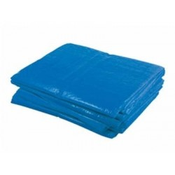 Dekzeil Blauw 130gr. 8x10m