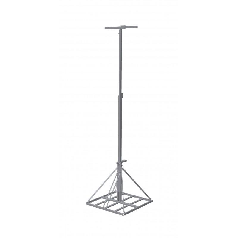 Lichtmast uitschuifbaar 3-6m