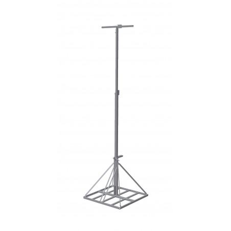 Lichtmast 3-6 meter uitschuifbaar